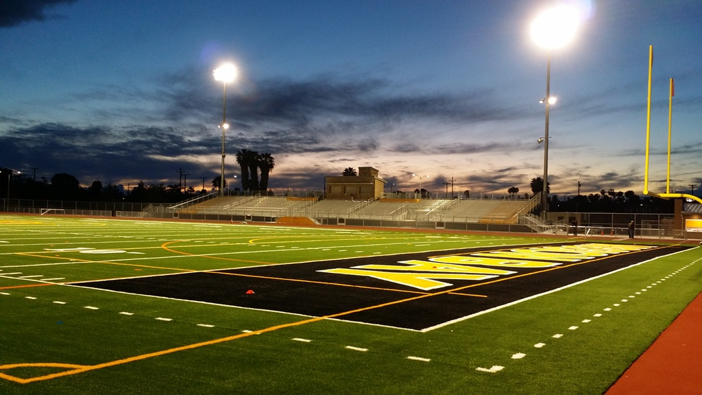 Neal Nears Completion Of Mission Bay High School Stadium