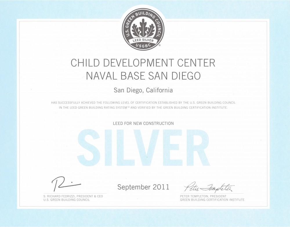 CDC Naval Base San Diego--LEED Silver